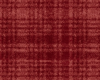 Maywood Woolies Red on Red Large Plaid FLANNEL Fabric MASF-18501-R BTY