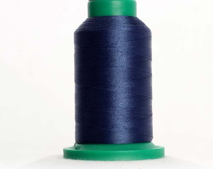 ISACORD Polyester Embroidery Thread Color  3743 Harbor Blue 1000m