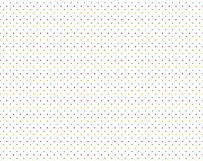 Riley Blake Designs Swiss Dots GIRL C660-03 Cotton Fabric BTY