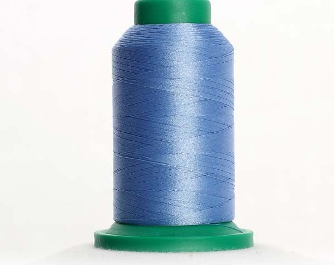 ISACORD Polyester Embroidery Thread Color 3641 Wedgewood 1000m