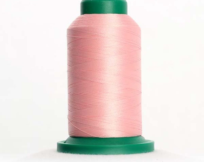 ISACORD Polyester Embroidery Thread Color 2160 Iced Pink 1000m