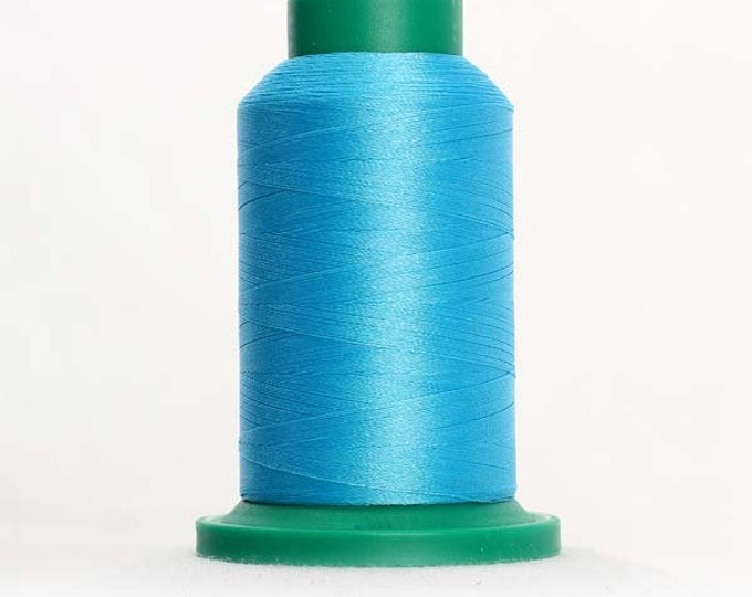 ISACORD Polyester Embroidery Thread Color  4114 Danish Teal 1000m