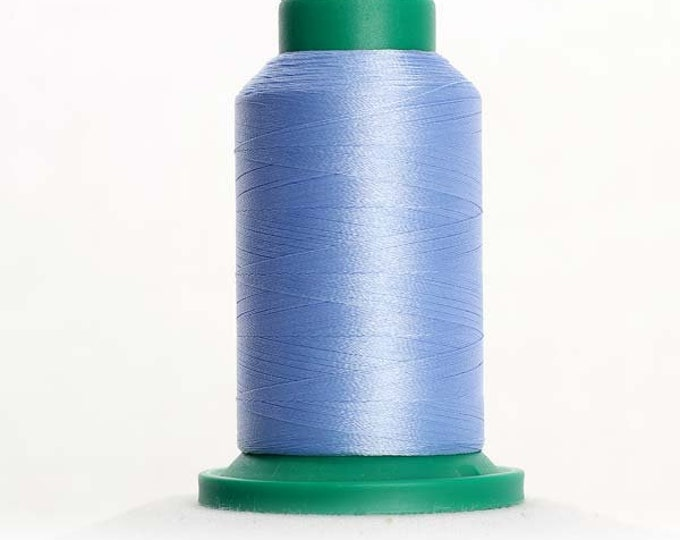 ISACORD Polyester Embroidery Thread Color 3640 Lake Blue 1000m
