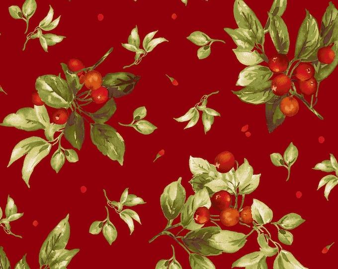 Maywood Fabric MAS9303-R Bountiful Berries BTY