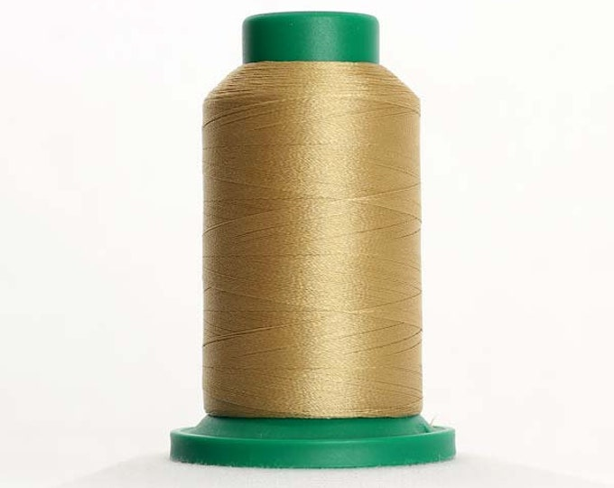 ISACORD Polyester Embroidery Thread Color 0552 Flax 1000m
