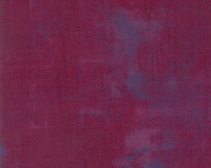 Moda Grunge Basics BOYSENBERRY Purple Mottled Background 30150-335 Fabric BTY