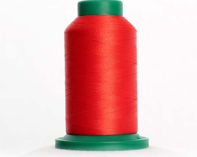 ISACORD Polyester Embroidery Thread 1703 Poppy 1000m