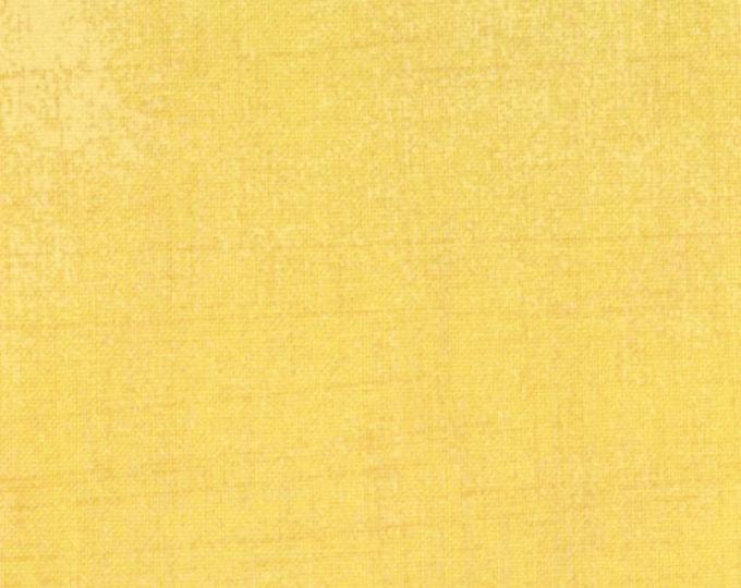 Moda Grunge Basics CHIFFON Yellow Mottled Background Fabric 30150-15 BTY