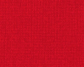 Blank Quilting Avery Red 108 Wide Backing American Patriotic Hatched Print Fabric BTY