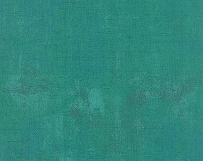 Moda Grunge Basics JADE Bright Green Teal Mottled Background 30150-305 Fabric BTY