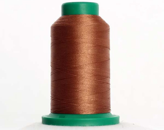 ISACORD Polyester Embroidery Thread Color 1154 Penny 1000m