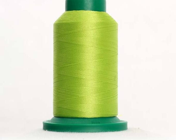 ISACORD Polyester Embroidery Thread Color 6031 Limelight 1000m