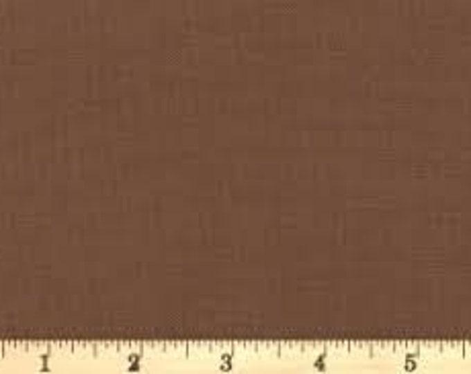 Batik Textiles Fabric 0846 solid brown BTY