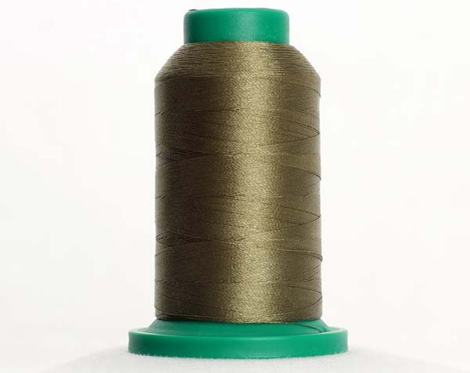 ISACORD Polyester Embroidery Thread Color 0454 Olive Drab 1000m