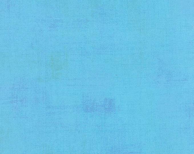 Moda Basic Grey Grunge SKY Light Blue 30150-218 Fabric BTY