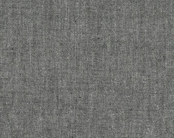 Andover Chambray Basics Black Charcoal Gray Grey Cotton Fabric A-C-Black BTY
