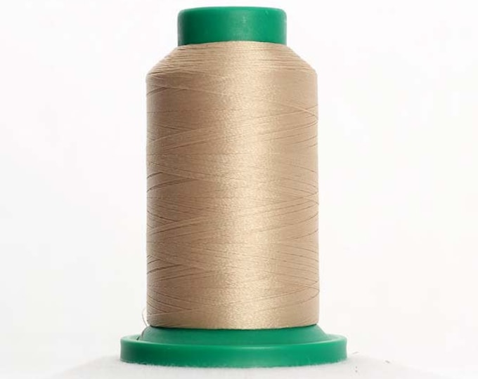 ISACORD Polyester Embroidery Thread Color 1172 Ivory 1000m