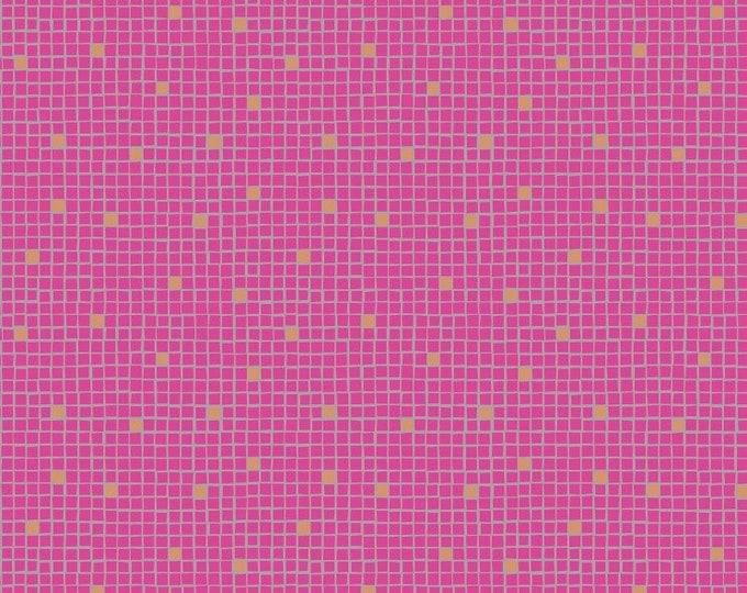 Lewis & Irene A269 2 - Pink little tiles Lindos Met  BTY