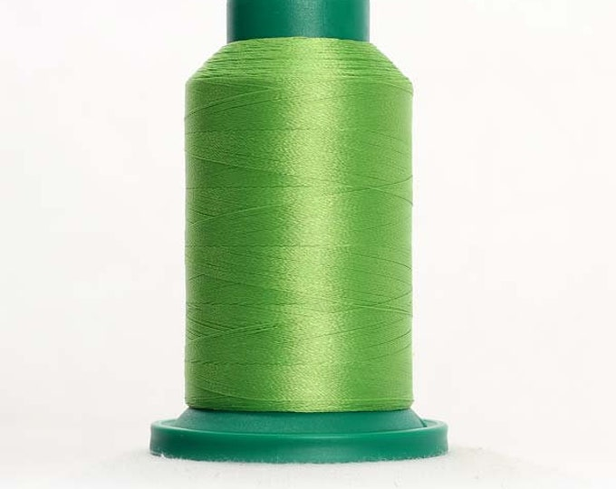 ISACORD Polyester Embroidery Thread Color 5912 Erin Green 1000m