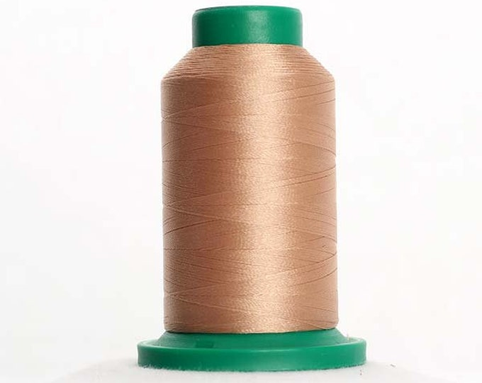 ISACORD Polyester Embroidery Thread Color 1141 Tan 1000m