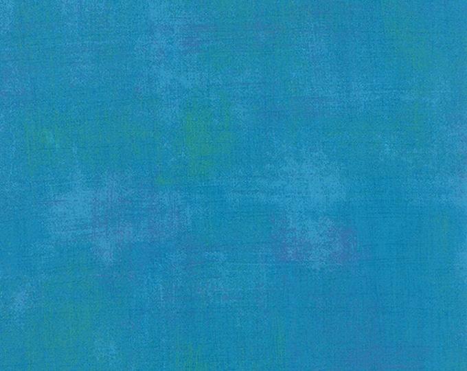 Moda Grunge Basics TURQUOISE Lime Green Mottled Background Fabric 30150-298 BTY