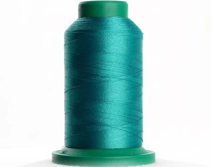 ISACORD Polyester Embroidery Thread Color  5101 Dark Jade Green 1000m