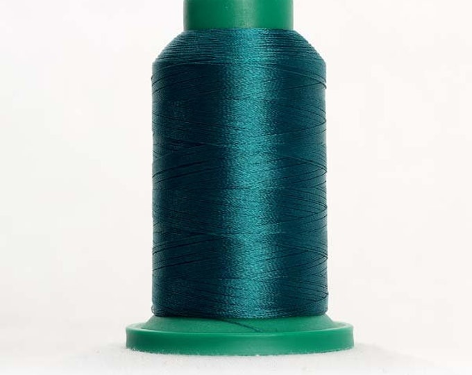 ISACORD Polyester Embroidery Thread Color 5005 Rain Forest 1000m