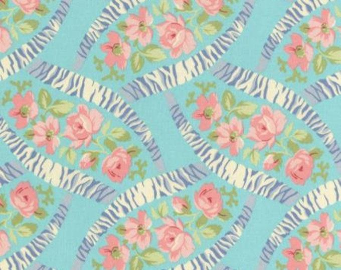 RJR 2243-002 Bon Bon Bebe - Teal Fabric BTY