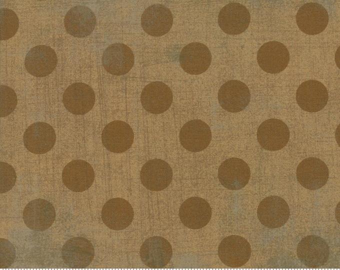 Moda Basic NEW KRAFT Hits the Spot Brown Polka Dot Grunge 30149-44 Fabric BTY