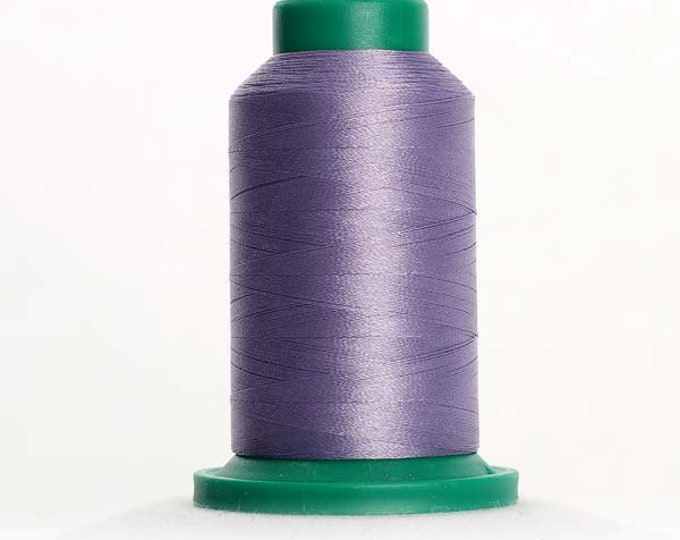 ISACORD Polyester Embroidery Thread Color 3241 Amethyst Frost 1000m