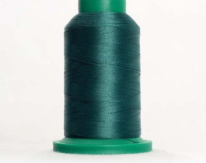 ISACORD Polyester Embroidery Thread Color 5233 Field Green1000m