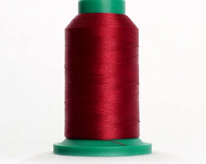 ISACORD Polyester Embroidery Thread 2113 Cranberry 1000m