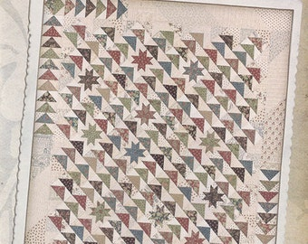 Miss Rosie's Due South Fat Quarter Friendly Quilt Pattern