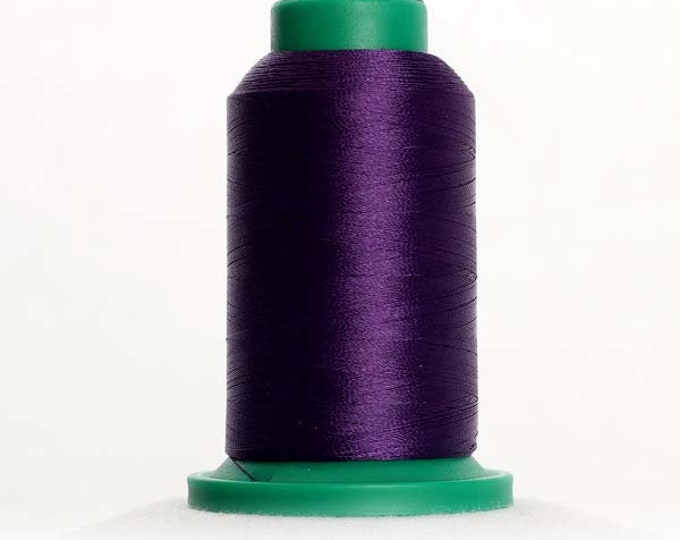 ISACORD Polyester Embroidery Thread Color 3114 Purple Twist 1000m