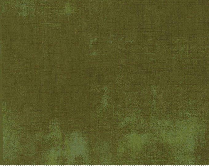 Moda Grunge Basics DRIED HERB Green Mottled Background Fabric 30150-395 Fabric BTY