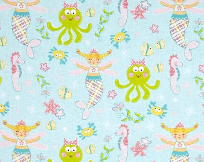 Marcus Magical Mermaid R37 9655 01 50 Blue Magical Mermaid Aqua BTY