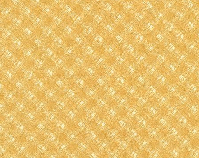 RJR 2774-002 Christmas Remembered - Broken Threads - Gold Fabric BTY