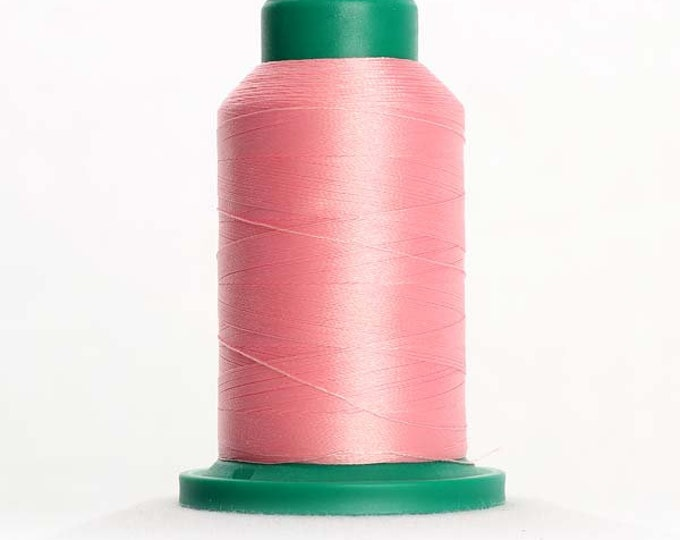 ISACORD Polyester Embroidery Thread Color 2155 Pink Tulip 1000m
