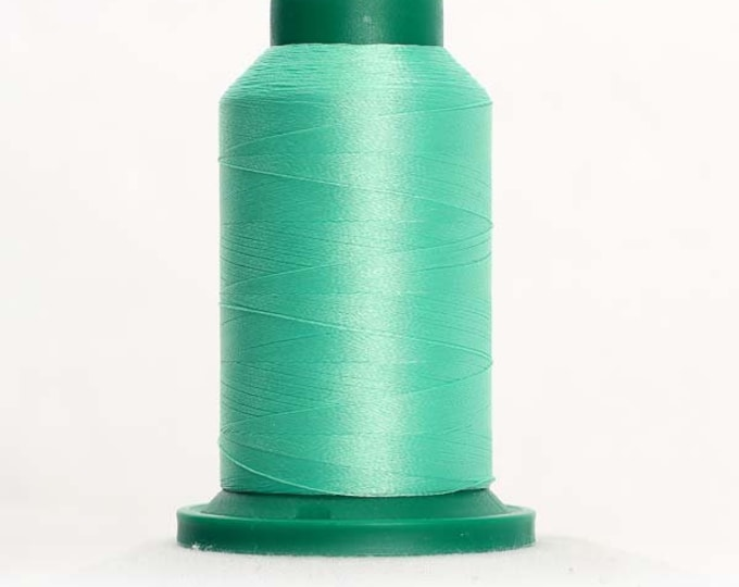 ISACORD Polyester Embroidery Thread Color 5440 Mint 1000m