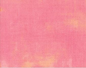 Moda Basics Grunge  Peony Pink Peach 30150-377 Fabric BTY