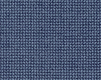 Maywood Woolies Blue Navy Weave FLANNEL 18122-N2 Fabric BTY