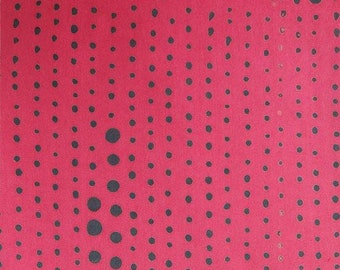 NEW Andover by Alison Glass Chroma Sun Prints AB-8131-E1 Strawberry Fabric BTY