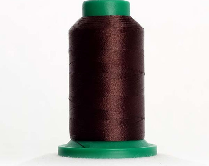 ISACORD Polyester Embroidery Thread 1876 Chocolate 1000m