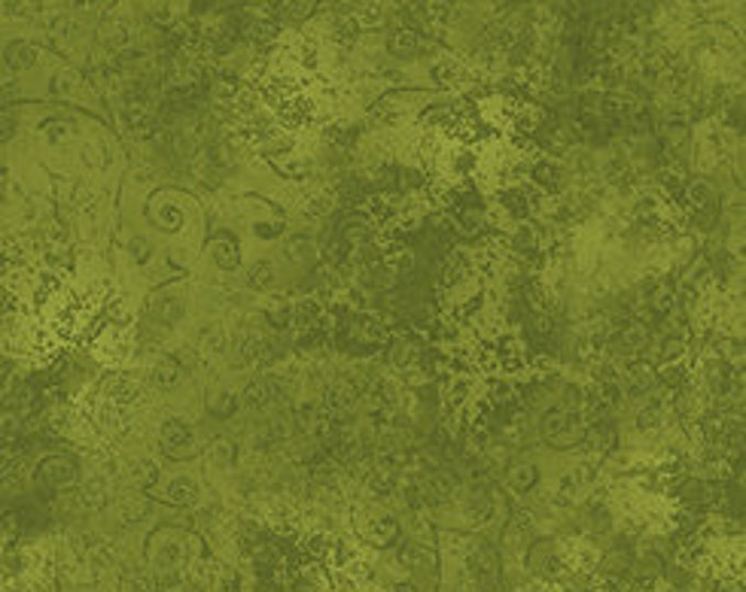 Quilting Treasures Quilting Temptations Moss Green Fabric 22542-PV