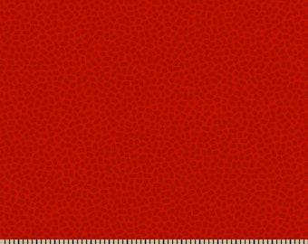 Patrick Lose Studios Speckles Modern Basic Blender Strawberry Red Spot Fabric BTY