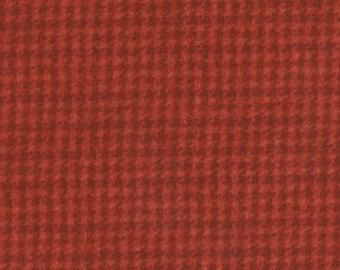 Maywood WOOLIES Red Houndstooth MASF-18503-R Flannel Fabric BTY 1 Yd