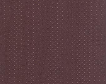 Moda Old Cambridge Pike Barbara Brackman Brown Dot Civil War Fabric 8327-20 BTY