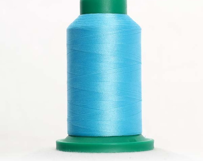 ISACORD Polyester Embroidery Thread Color  4122 Peacockl 1000m