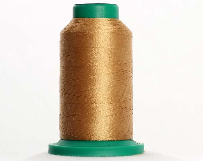 ISACORD Polyester Embroidery Thread Color 0832 Sisal 1000m