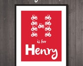 Printable Personalised Nu...